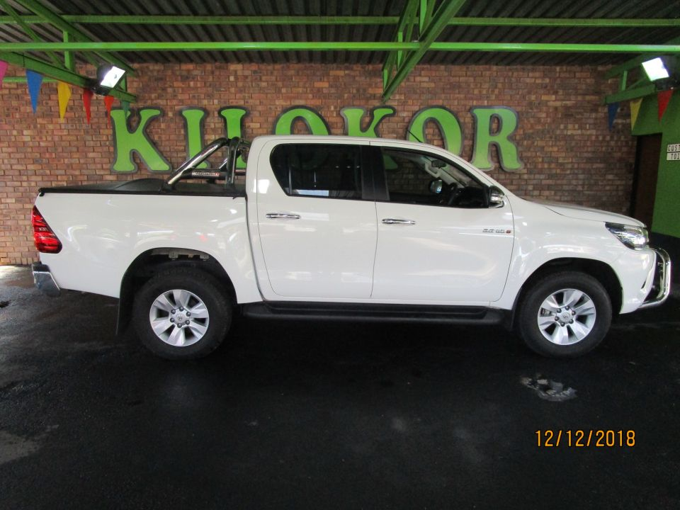 HILUX 2016 ON HILUX 2.8 GD-6 RB RAIDER P/U D/C